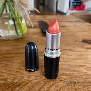 Mac CB 96 Lipstick Bright Pinky-Orange With Pearl
